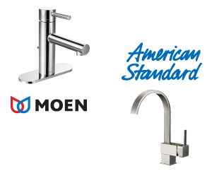 Laplante's carries a wide array of faucets.