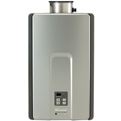 Enjoy endless hot water with a Rinnai tankless water heater! Get yours today!